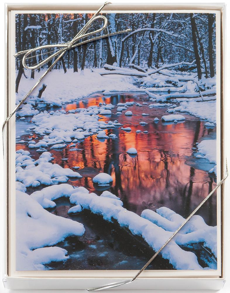 Winter Holiday Card Assortmebt: 10-card assorted set of boxed cards by Mike MacDonald.